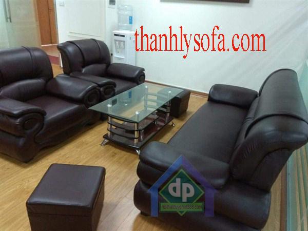 Thanh lý bộ sofa da kiểu Nhật ở Ba Đình giá rẻ mới 100% giá rẻ chỉ còn3,000,000₫