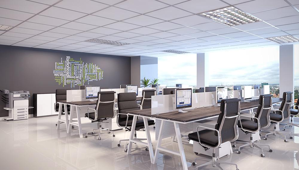 Thiết kế văn phòng cao cấp chuyên nghiệp từ A tới Z