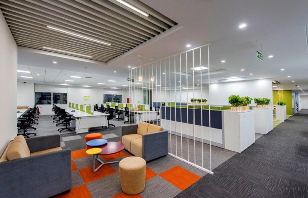 Đơn vị thi công nội thất văn phòng hiện đại, đăng cấp Nhất