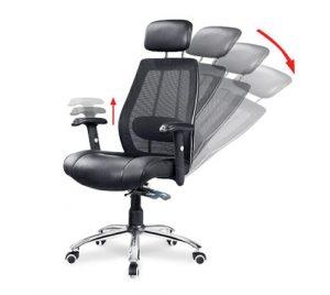 Ghế văn phòng ngả lưng - giải pháp hiệu quả giảm đau mỏi lưng