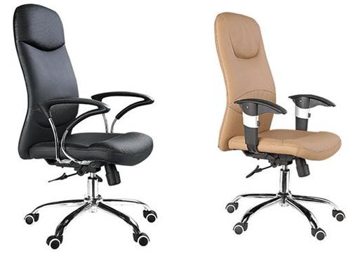 Cách sử dụng ghế xoay có tay gạt bên trái